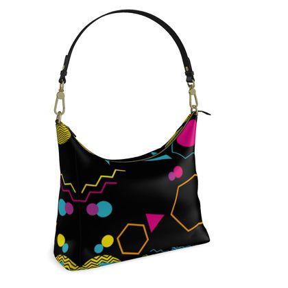 Square Hobo Bag- Emmeline Anne Shape Style