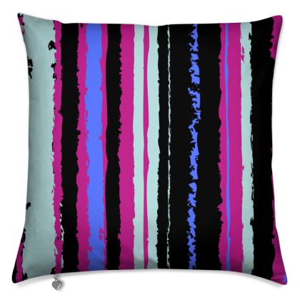 Stripes all the way, Square Cushion Pillow