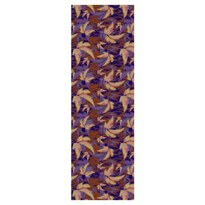 Mens Silk Pyjama Bottoms  Leaves in Flight  Woodchip