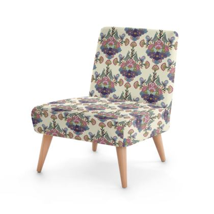 Occasional Chair - Folksy Floral - Cream