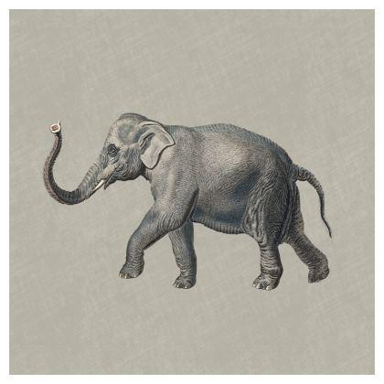 Luxury Cushion Elephant in Grey