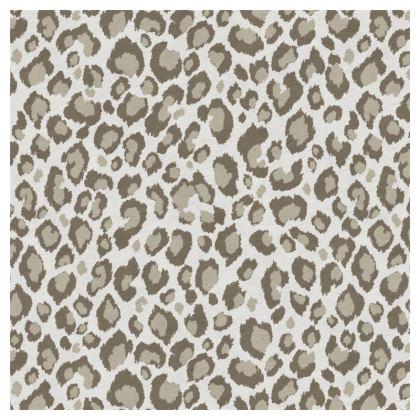 Luxury Cushion Leopard Beige