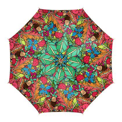 Umbrellas - Autumn Nature