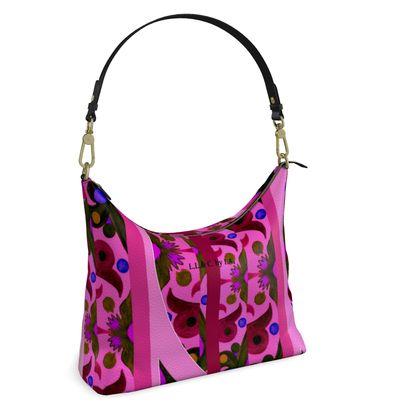 Elegante borsa in pelle linea Acquarelli