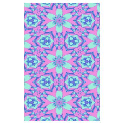 Blue, Mauve Journal   Geometric Florals   Hyacinth