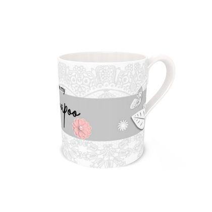 CAVAPOO bone china  mug