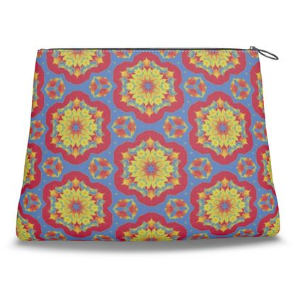 Red, Blue, Yellow  Geometric Florals  Citadel