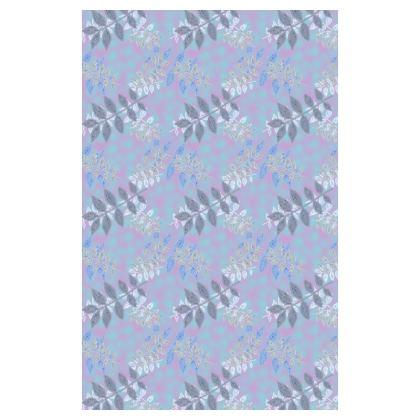 Blue, Pink Journals  Etched Leaves  Blue