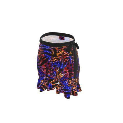 Flounce Skirt - Neon Party Nights