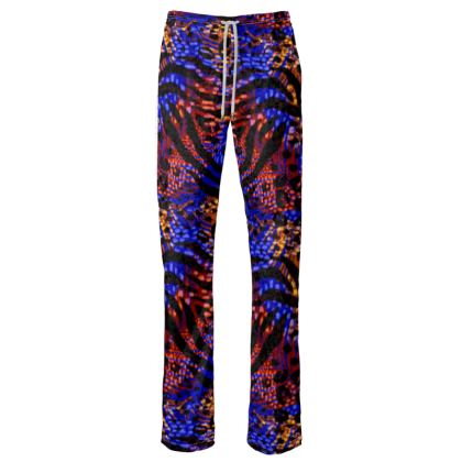 Womens Trousers - Neon Party Nights