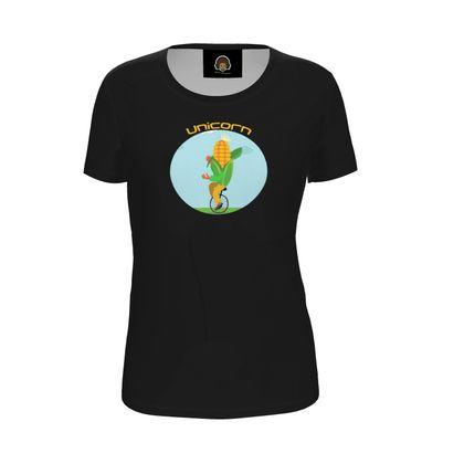 Ladies T Shirt - Unicorn