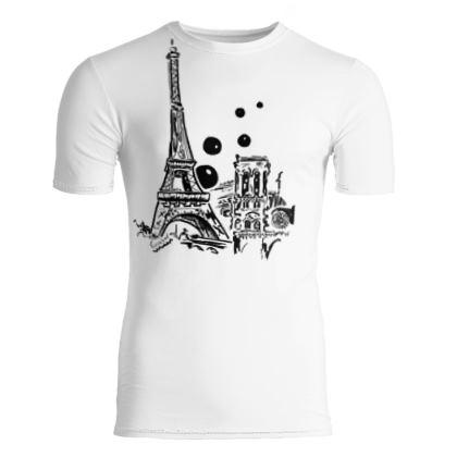 Paris bubble T-shirt