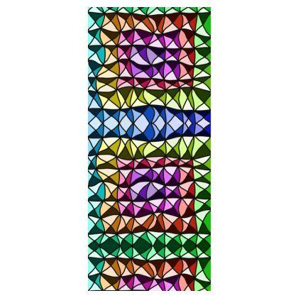 Leggings in colorful geometric