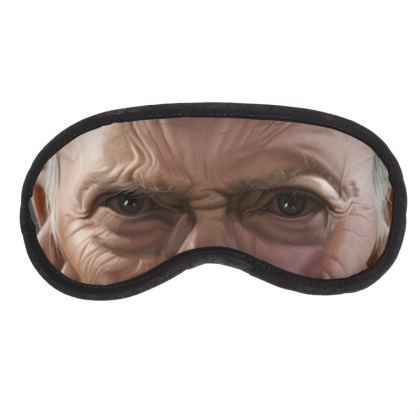 Clint Eastwood Celebrity Caricature Eye Mask