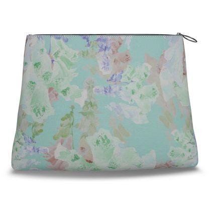 Teal Clutch Bag  Moonlight  Serenity