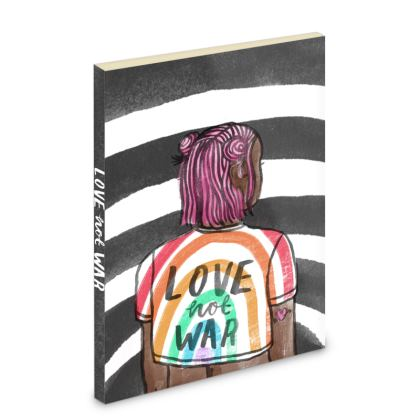 Love Not War Pocket Note Book