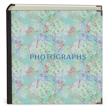 Teal Photo Albums   [large, with pocket]   Moonlight   Serenity