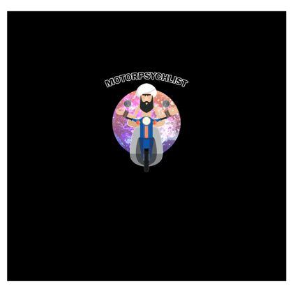 T Shirt - Guru Motorpsychlist Funny Pun