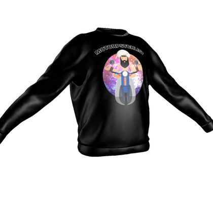 Sweatshirt - Guru Motorpsychlist Funny Pun
