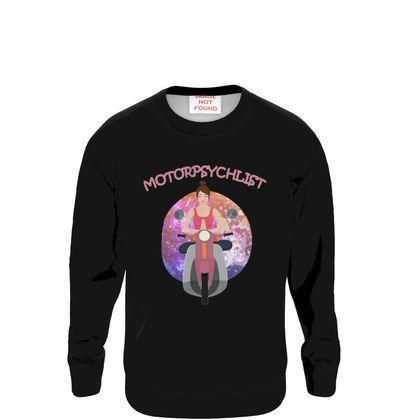 Sweatshirt - Yoga Motorpsychlist Funny Pun