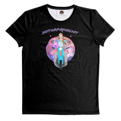 T Shirt - Tarot Motorpsychlist Funny Pun