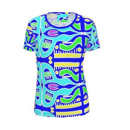 Maglietta donna fatta a mano