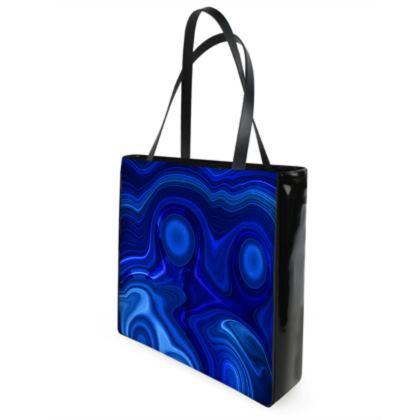 lapis lazuli beach bag