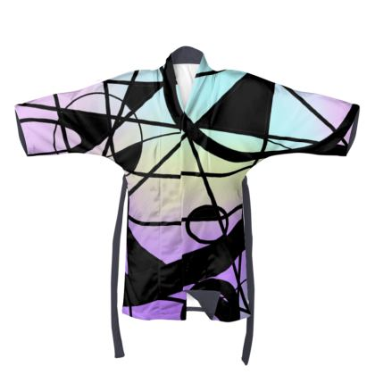 Kimono in Pastel Abstract