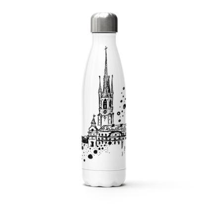 White Sthlm thermal bottle