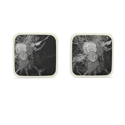 Hot Dish Pads - Grytlappar - 50 shades of lace grey black