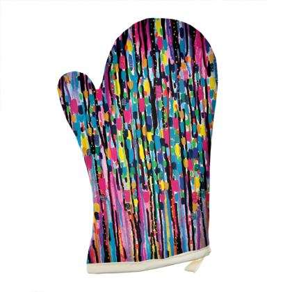 Hello and Goodbye Oven Gloves