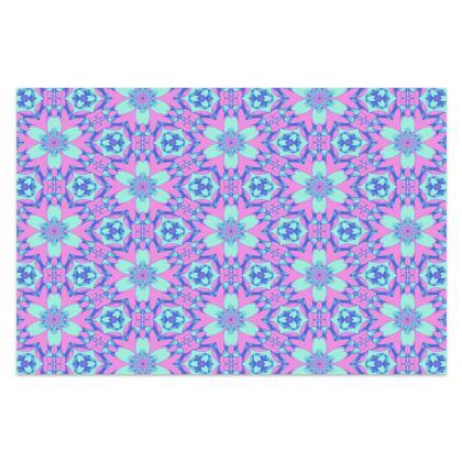 Blue Sarong [Shown : Silk Sensation poly 66''x44'']  Hyacinth