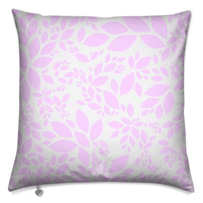 Cushions- Emmeline Anne Pink Leaves