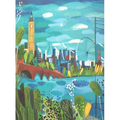 Trays in Natalie Rymer London Calling design
