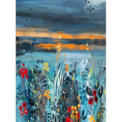 Trays in Natalie Rymer Setting Sun design