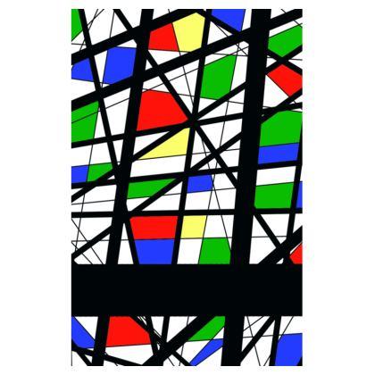 Mens Swimming Shorts in Geometric Basic Colors
