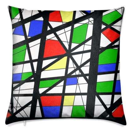 Luxury Cushions in Geometric Basic colors