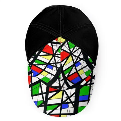 Baseball cap in Geometric Basic Colors