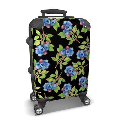 Blueberry Botanical Suitcase