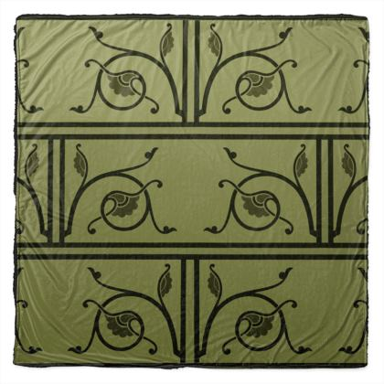 Throw - Medieval Pattern from The Practical Decorator 1 of 8
