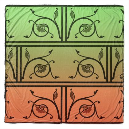 Throw - Medieval Pattern from The Practical Decorator 2 of 8