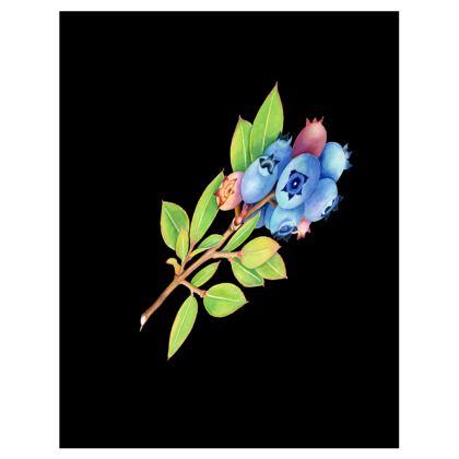 Blueberry Botanical Trays