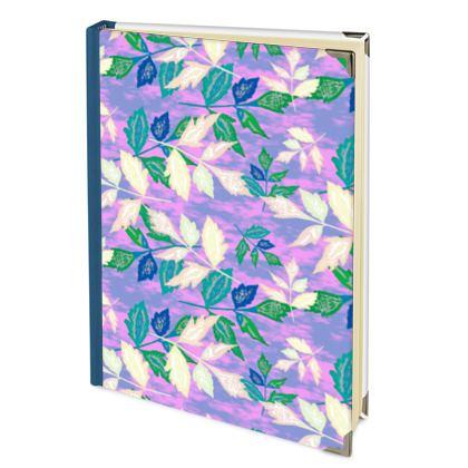 Mauve, Blue, Leaf  Journals  Slipstream   Blueberry Basket