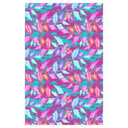 Mauve, turquoise Journals  Diamond Leaves   Harlequin