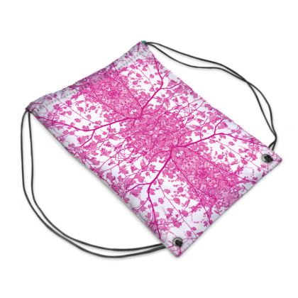 Lilac Branch Swim Bag