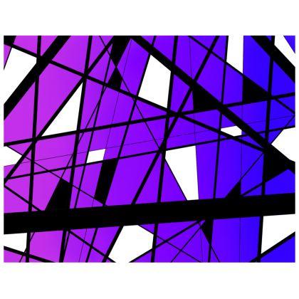 Kimono in Abstract purple gradient