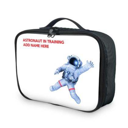 Astronaut In Training Back to School Lunch Bag