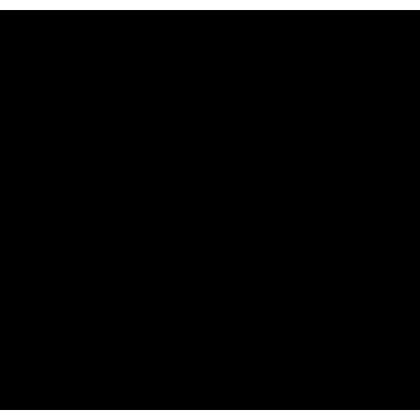 Hoodie in Geometric blue to green