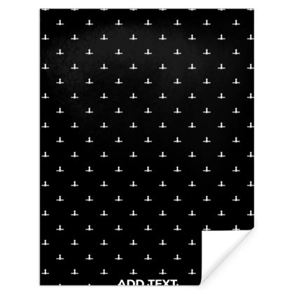Soyuz Spacecraft Pattern Gift Wrap Paper