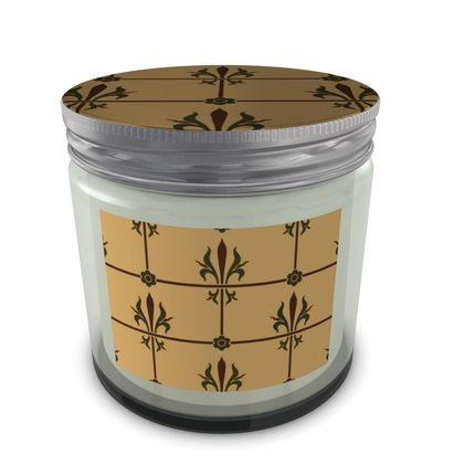 Set Candle In Jar - Insignia Pattern 1